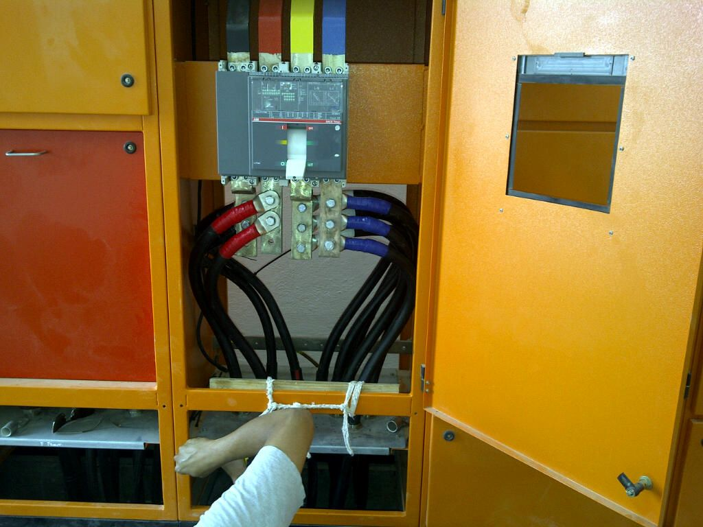 Somaliland Factory Electrical Wiring Distribution Board